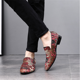 H10105D men fashion suede embroidery designer loafers sexy leather flat shoes