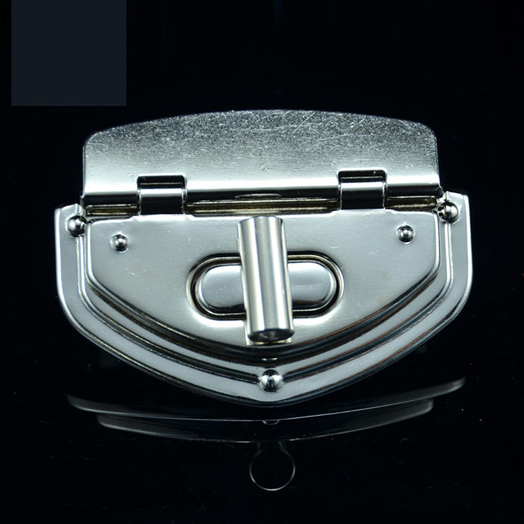metal iron alloy purse bag twist turn lock handbag hardware fittings