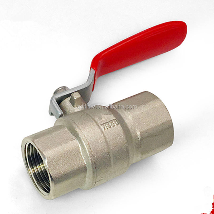 Small Size Copper Ball Valve with BSPP Threaded DN50
