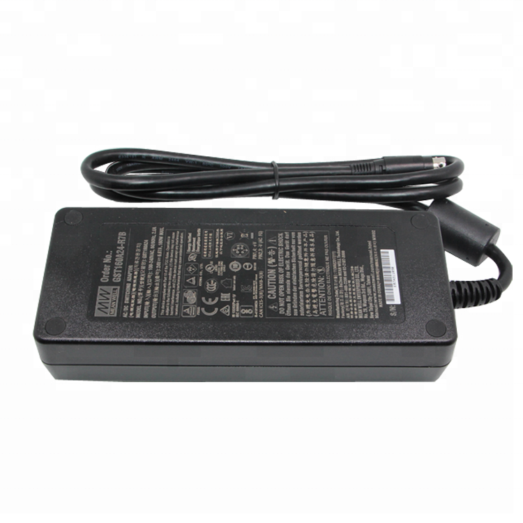 Meanwell GST160A12-R7B AC DC Adapter 220V to 12V Power Adapter 12V 160W Universal DC Adaptor