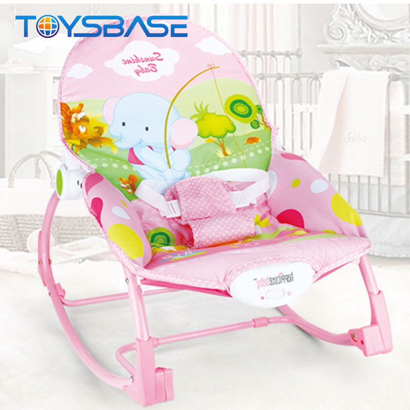 Multifunction Safety Plastic Swing Chair Baby Rocker Electric