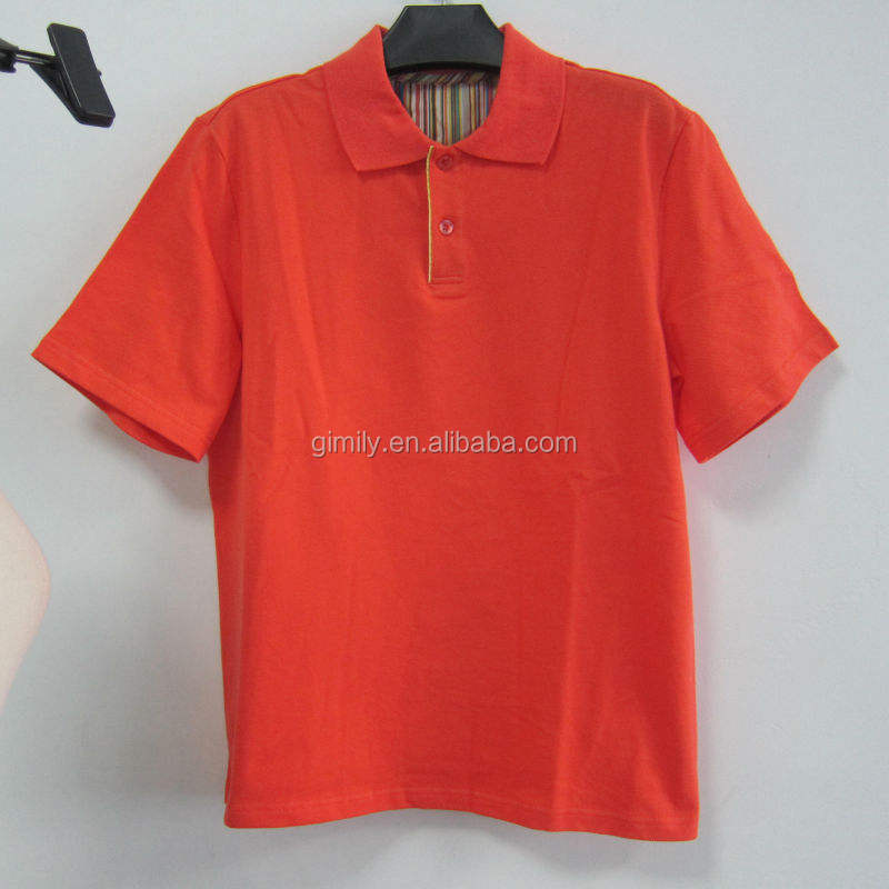 China Stocklots Top Quality Men's cotton Polo shirt/ Promotional apparel, moq