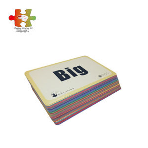 Factory wholesale customizable design high quality custom printing Kid game card