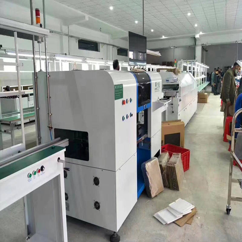 led lamp manufacturing machine led bulb assembly machine led light production line
