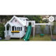 prefab wooden playhouse for kids waterproof outdoor mini playground for children wood cubby house playsets