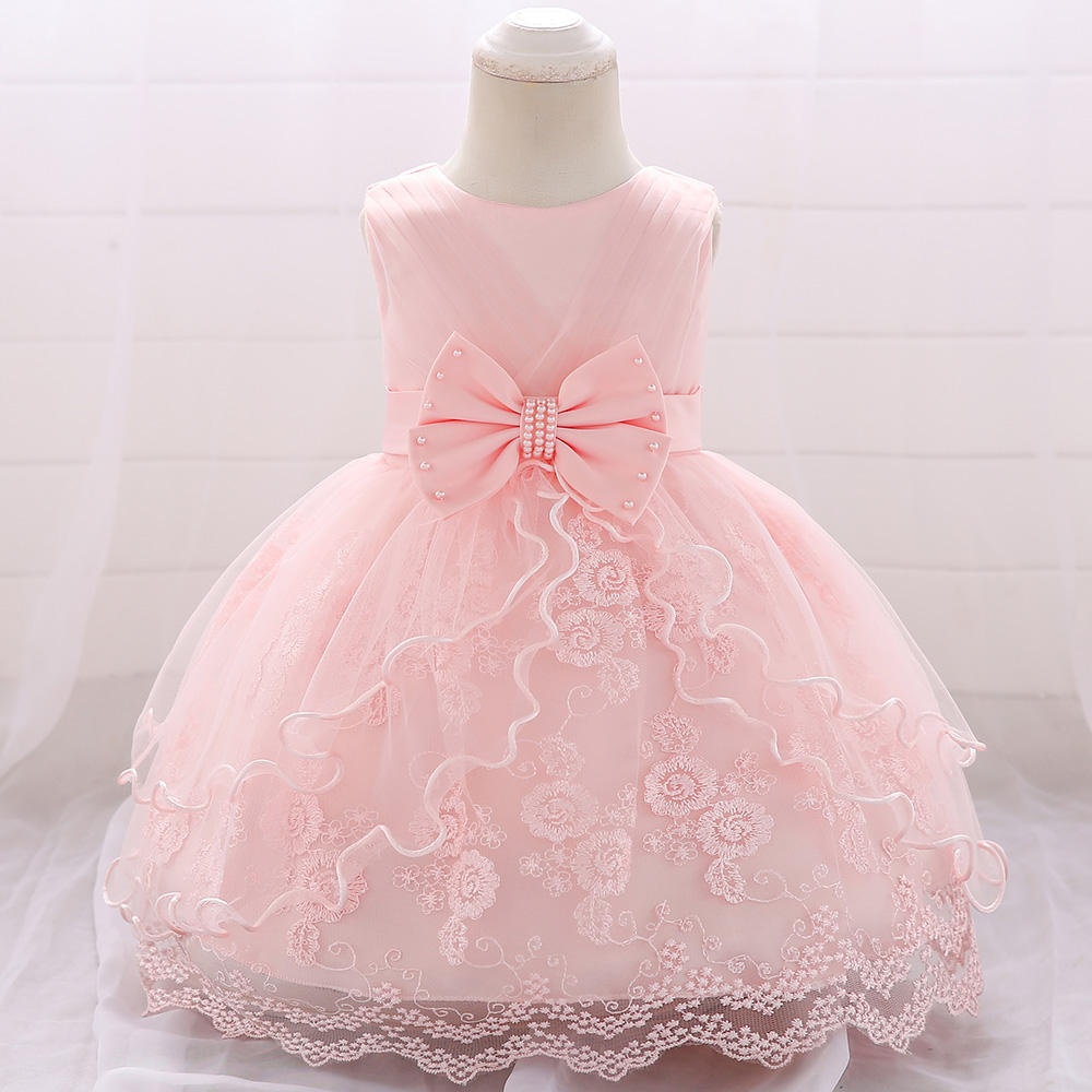 New Fashion Wedding Party Princess Toddler baby Girls Clothes Kids baby Girl Dresses L1869XZ