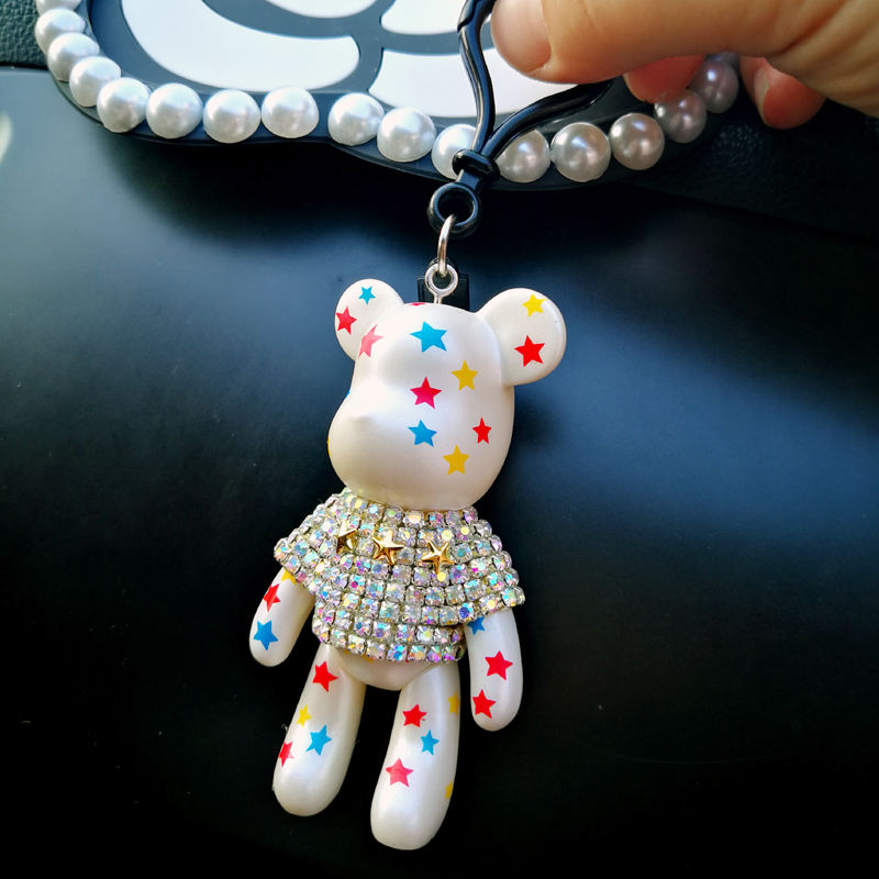 Bear buckle Car Key Chain/Sales key ring Hanging pendant for car automobile