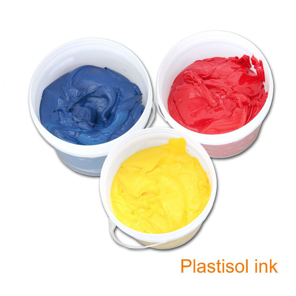Kenteer silicon screen printing ink on cotton and ployster