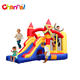 Cheap residential nylon inflatable bouncer indoor mini jumping bouncy castle