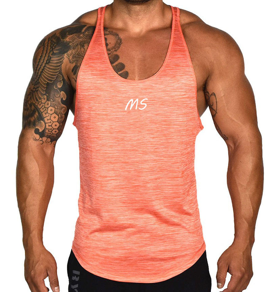 Bulk Gym Singlets Men Sports Vest With Cheap Price