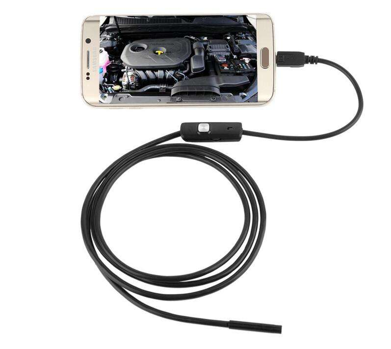 5M Waterproof inspection Snake Tube camera Micro USB OTG Borescope HD720P sewer inspection camera
