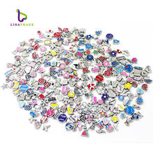 Wholesale Mixed Styles Alloy Floating Locket Custom Charms For Glass Memory Lockets floating cheap charms