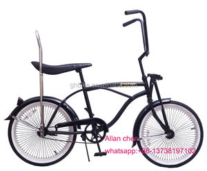 20 inch adult black color children sport goods kids beach cruiser lowrider bike in stock for sale