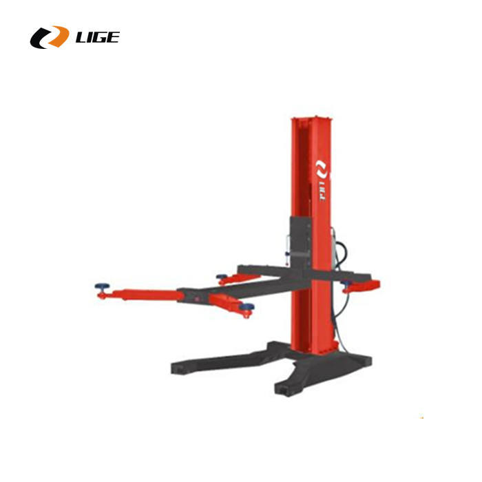 Mobile car lifts for single post lifter