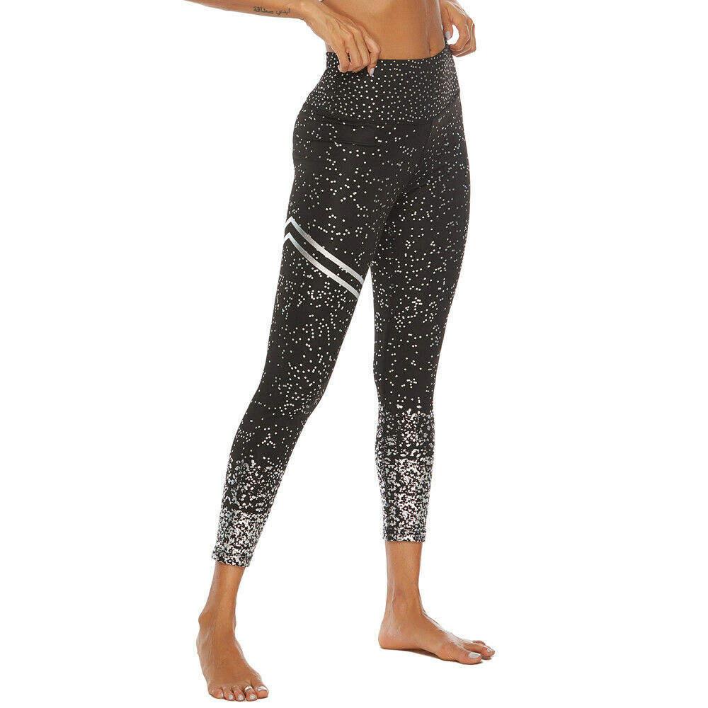 Sportswear Leggings Women Apparel Sportswear Fitness Clothing Active Wear New Women Workout Recycled Print Leggings Fitness Yoga Athletic Skinny Pants