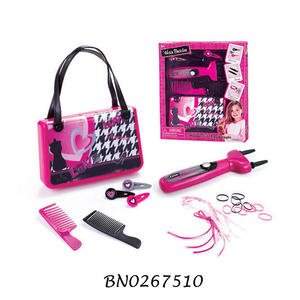 Purse Set Girls Pretend Play Toys Beauty Salon Set