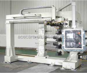 4Axis - 3 Spindles Computer Controlled Winding Machine, Filament winding machine