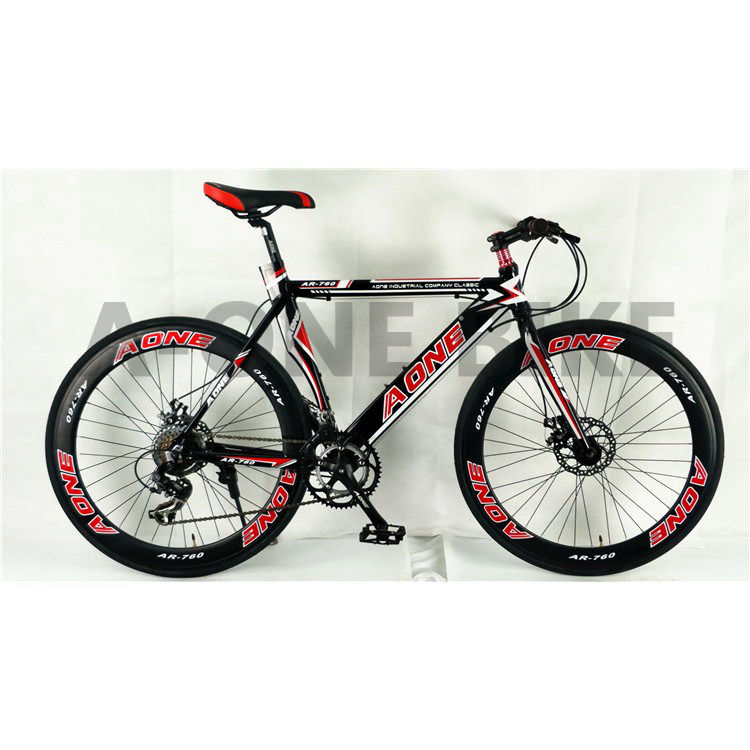 Manufacturer Wholesaling New Steel Mountain Bicycle 21 Speed Perfect Design Road Bike