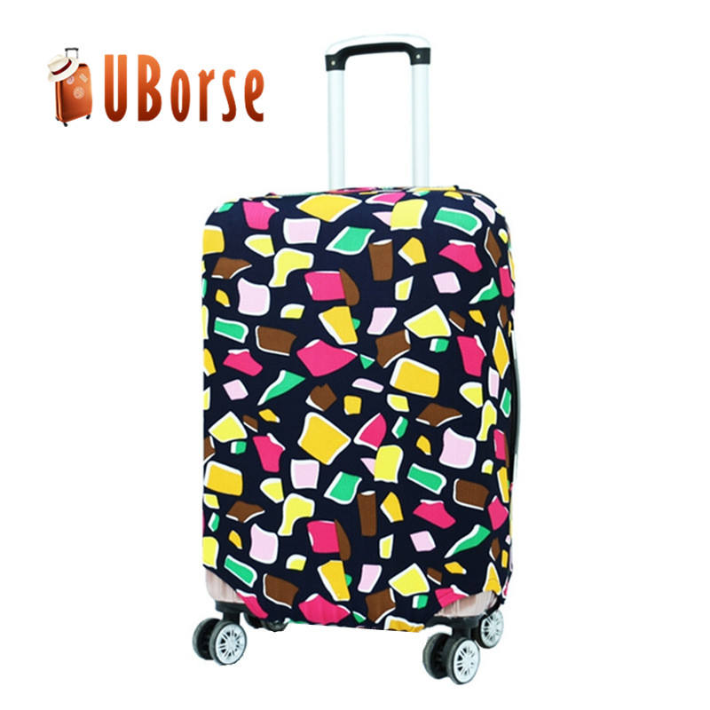 Promotional Printed Luggage cover , Elastic Spandex Luggage Cover Suitcase Protective Cover,abs luggage cover