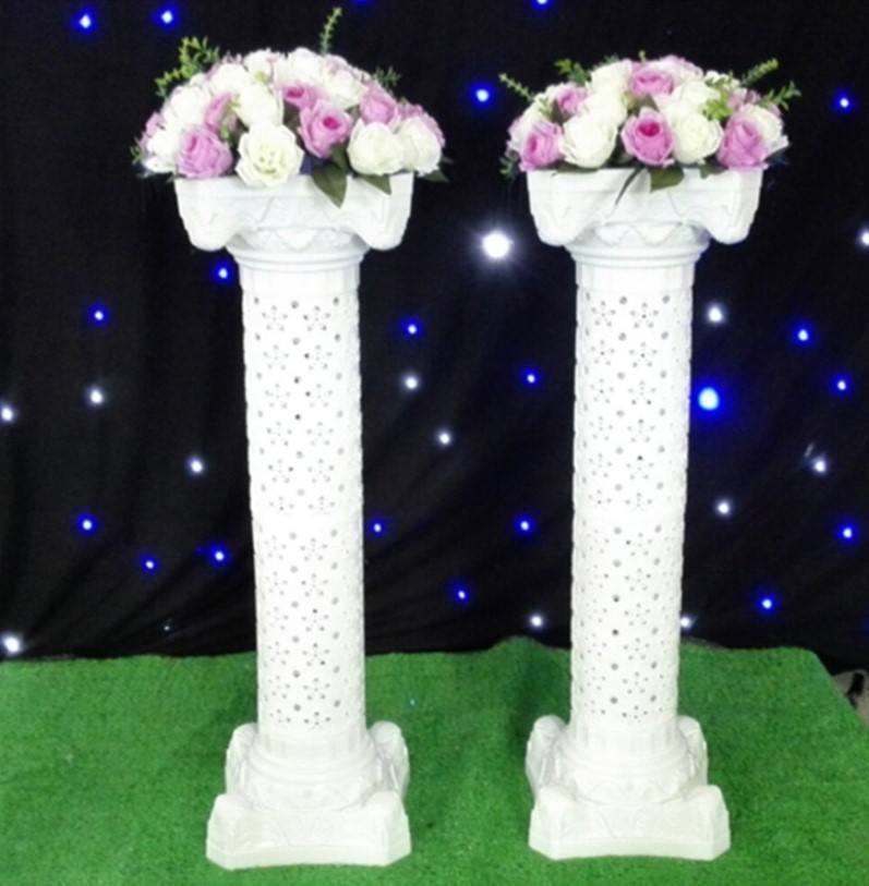 decoration roman pillar column molds and plastic roman pillar for sale