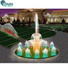 Professional make outdoor colorful musical dancing water fountain price