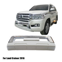 Car Bumper Guard for Land Cruiser 2016 Front and Rear Bumper Bar for LC200