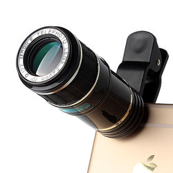 Best trading telescope 12X telephoto optical zoom mobile phone camera lens for cellphone iphone htc ect