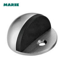 High standard interior zinc round rubber floor mounted door stop