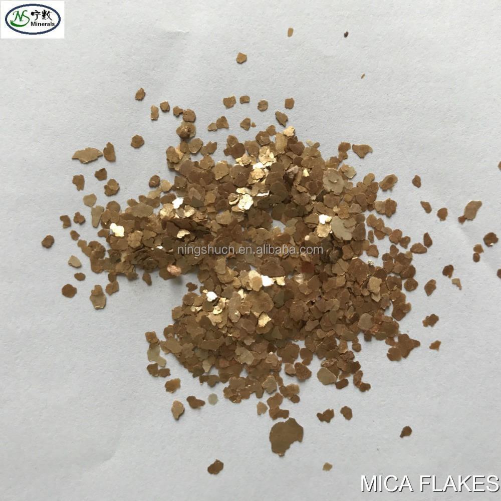 Natural/Coloured MICA Flakes for Wallpaper paint coating