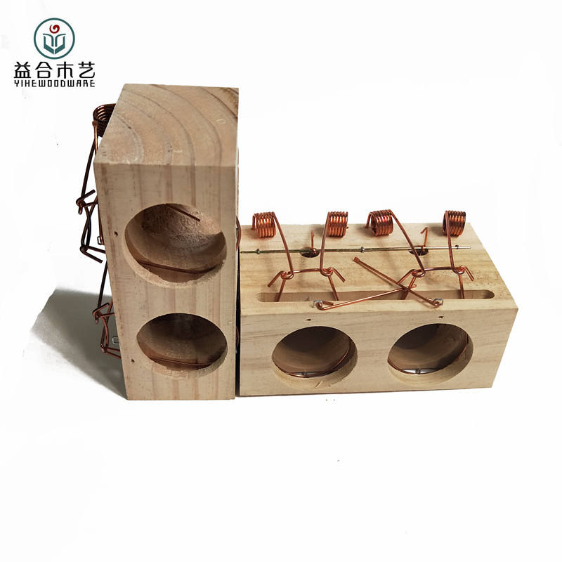 wooden mouse cage trap,large size rat trap cage