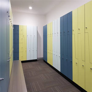 Solido multi colore hpl ostello cabinte school gym locker