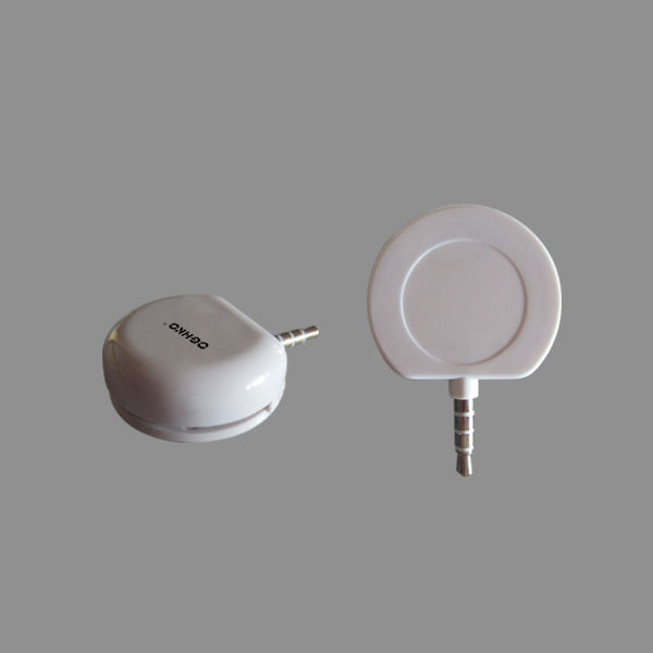 Smart mobiele telefoon 3.5mm audio jack credit kaartlezer
