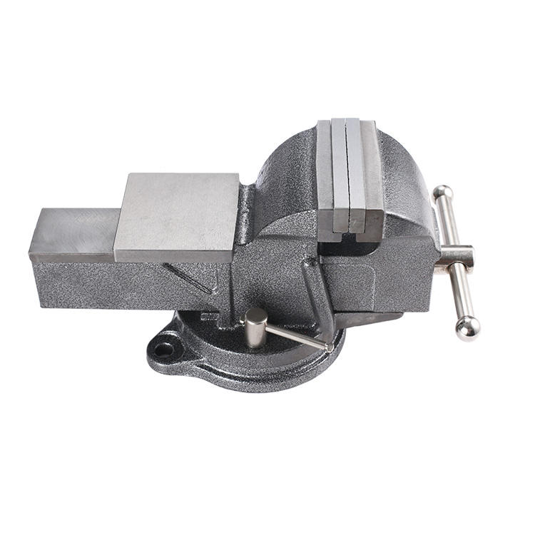 3 4 5 6 8 10 นิ้ว Heavy Duty Vise Light Vise Swivel Vise กับ Anvil