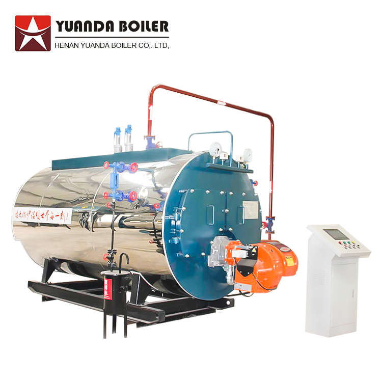 5mw Fire Tube Gas Oil Three-Way Hot Water Boiler