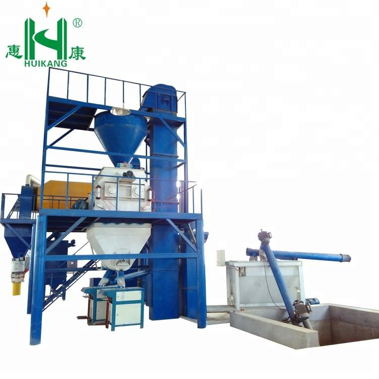 Full automatic simple easy operated adhesive dry mortar production plant/ Perlite mortar low investment production line