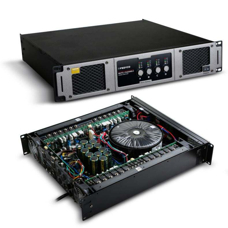 Home Theater Pa System Pro Power Amplifier 650W
