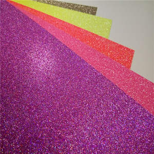 chinese new style glitter paper for marriage invitations
