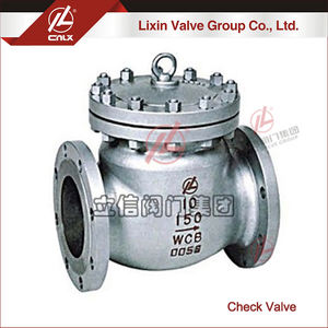 Factory wholesale professional 6 inch 24 inch ANSI flange check valve wholesale supplier