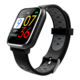 High quality 0.96 inch color screen health fitness smart watch with blood pressure monitoring