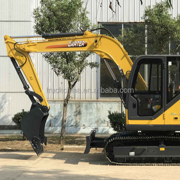 China Small New Carter 8 Ton Digger Excavator for Sale