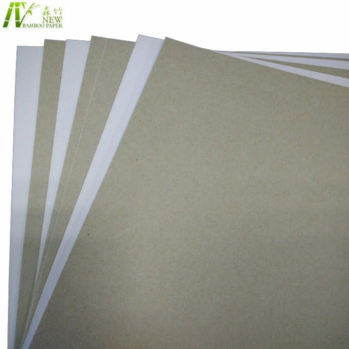 250gsm. 300gsm. 350 gsm. 400gsm papier duplex board een side coated
