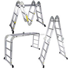 EN131 approved Aluminum Multipurpose Ladder,ladder,folding leader aluminum,telescopic ladder,AM0112A,12steps,