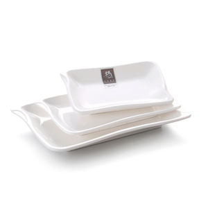 Square Shaped 100% Melamine Dish Set