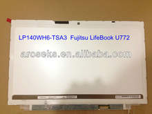 LP140WH6-TLA3 14.0 WXGA 40 Pins LED Panels for Ultrabook Fujitsu LifeBook U772