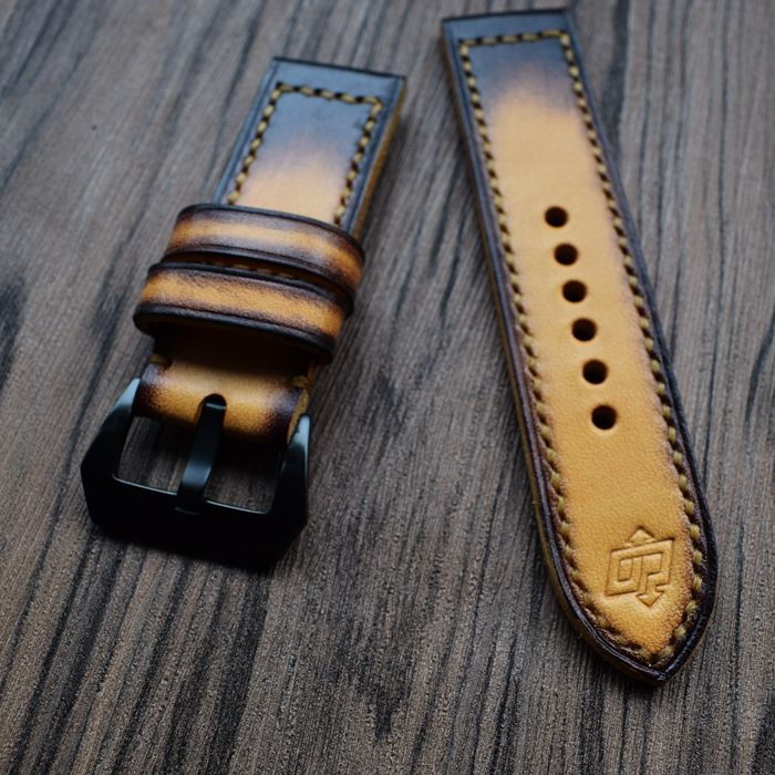 new sale soft and comfortable handmade high quality Italy cowhide retro men's leather strap