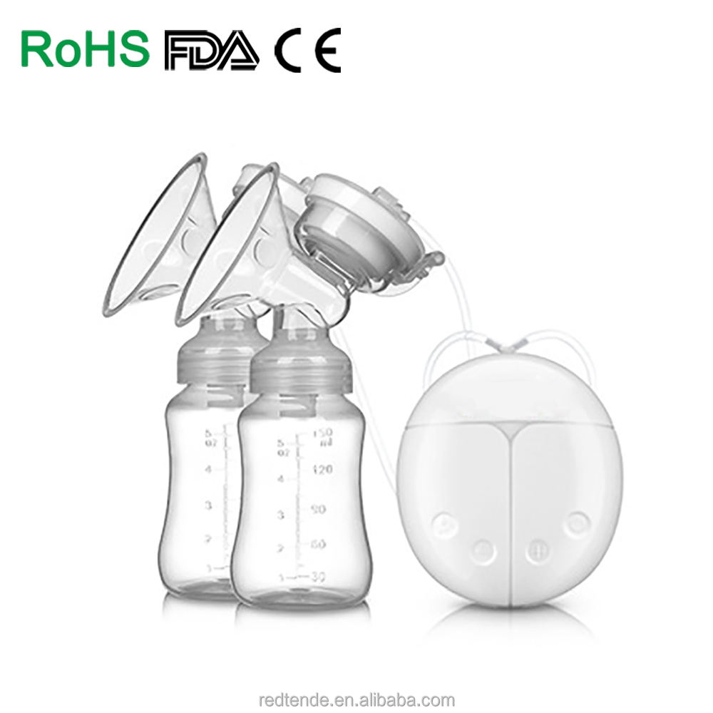 Real Bubee Manufacture High Quality Feeding Breast Massager Double Electric Breast pump