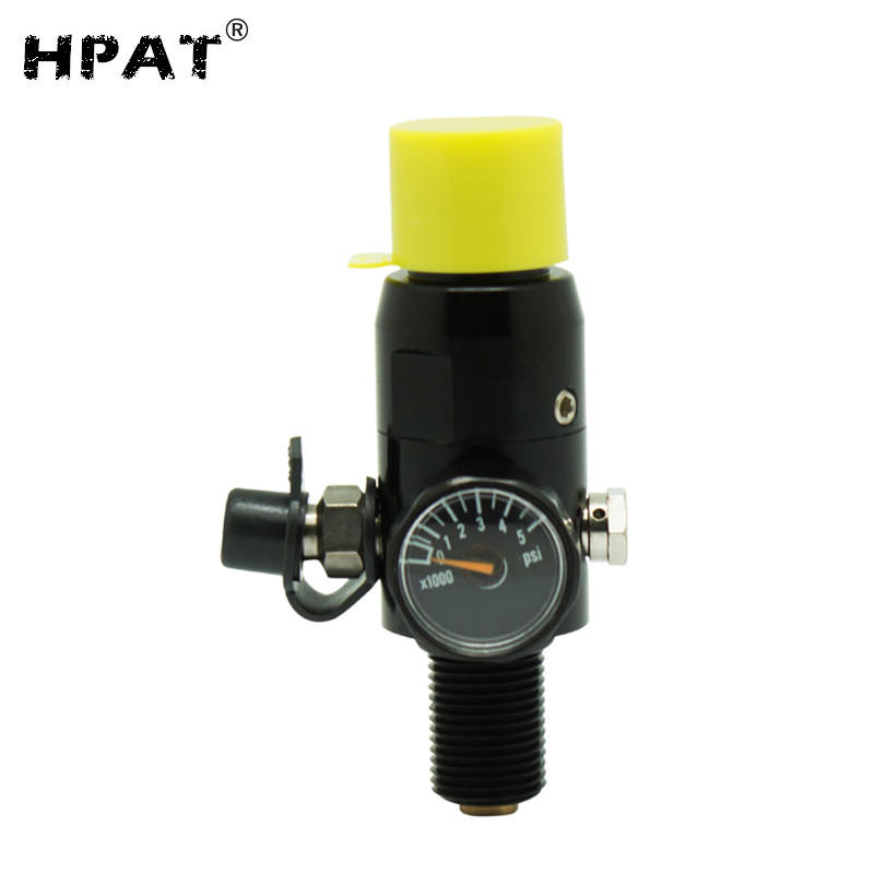 4500/3000psi Paintball HPA Tank Regulator output pressure 800psi