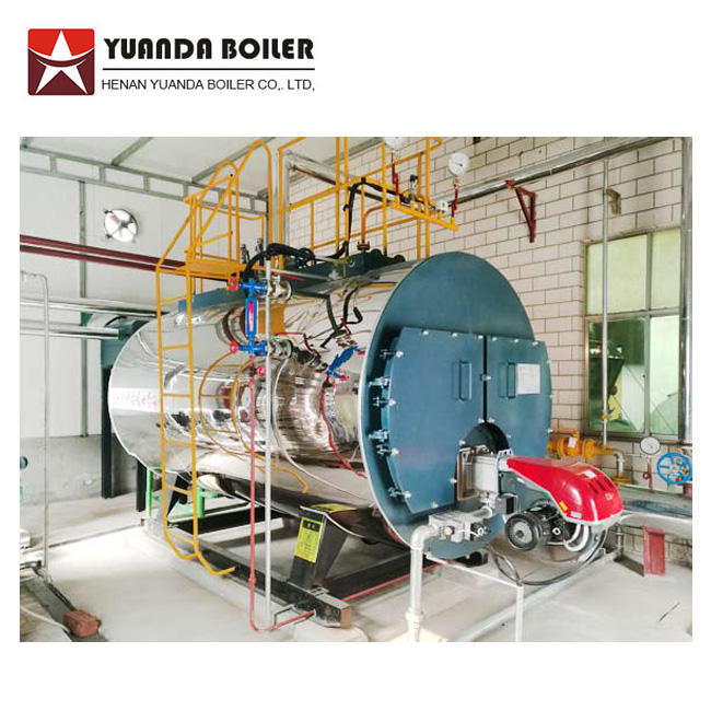 Industrial Gas Oil Fired Package Steam Boiler Price