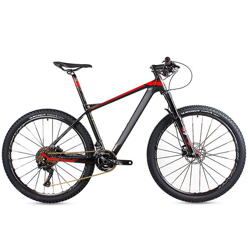 OEM 27.5er Carbon Mountain Bikes / Professional MTB 27.5 Inch carbon mountain bike with 22 speed