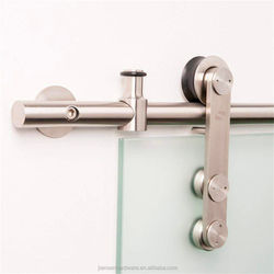 wholesale stainless steel barn door hardware price